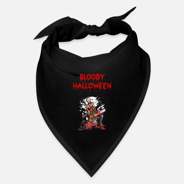 Chain Bloody Halloween chain saw Gift Present (0094) - Bandana