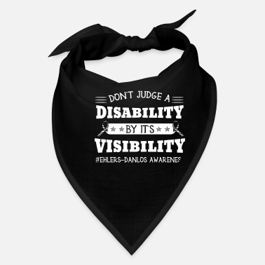 Zebra Don't Judge A Disability By Visibility - Bandana