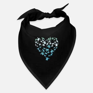 Eco turtle heart - Bandana