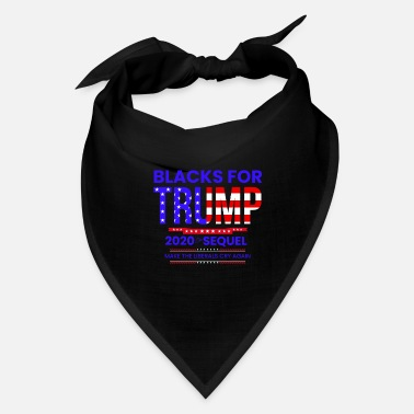 Black Blacks For Trump - Bandana