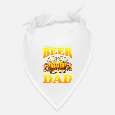 Super Dad Father's day beer drinker father grandpa fun gift - Bandana