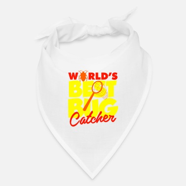 Fathers Day Worlds Best Bug Catcher - Bandana