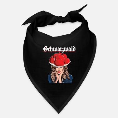 Tongue Black Forest Bollenhut black forest girl tongue se - Bandana