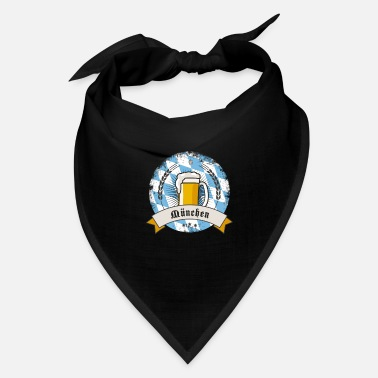 munich german beer party bavaria flag tent drink l - Bandana