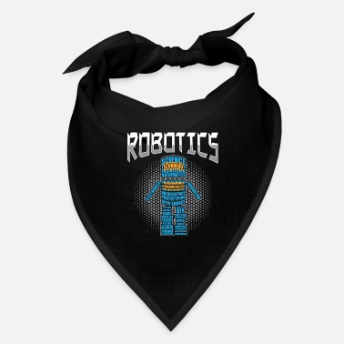 Training Robotics Engineer Robots Engineering Gifts print - Bandana