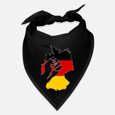 Federal Republic Of Germany Germany FRG flag Federal Republic gift Ger - Bandana