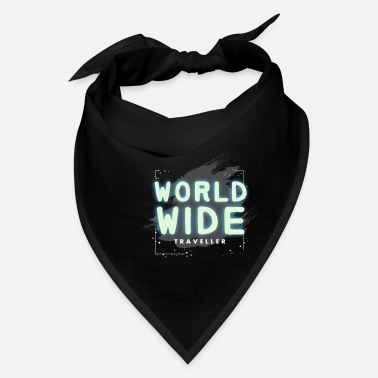 Travel Travel Travel Travel Traveller Holiday Traveler - Bandana