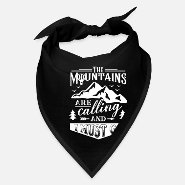 Mountains mountains mountaineering mountains - Bandana