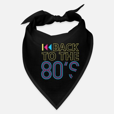 80s 80s 80s 80s Music 80s Party 80s Fashion - Bandana