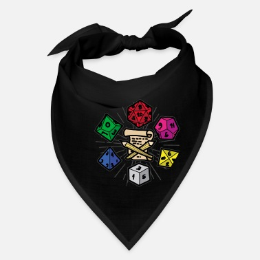 Role Playing Game PAPER PEN AND DICE RPG Fantasy Role Playing Game - Bandana