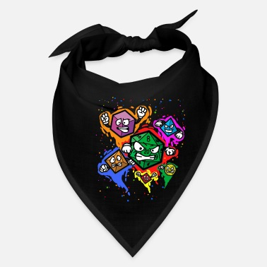 Role Playing Game RPG DICES Role Playing Game Fantasy Tabletop - Bandana