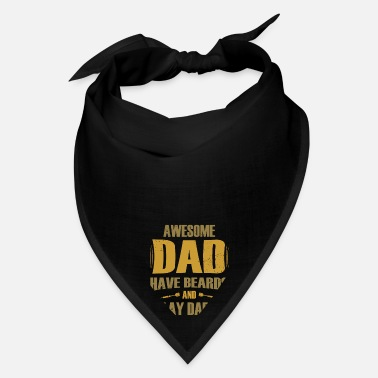 Darts Coach Beard Dad Darts Player Gift With Darts Arrows - Bandana