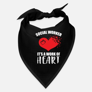 Worker Social Worker It's A Work Of Heart Mix Butterfly - Bandana