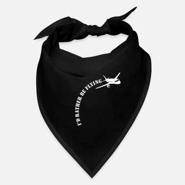 Surprise Airplane Pilot Flying Plane Aviation Enthusiast - Bandana
