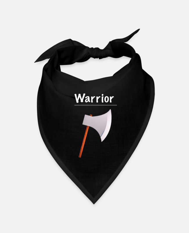 Video Game Bandanas - Ramseys Warrior - Bandana black