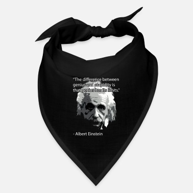 Einstein Quote Einstein Quote - Bandana