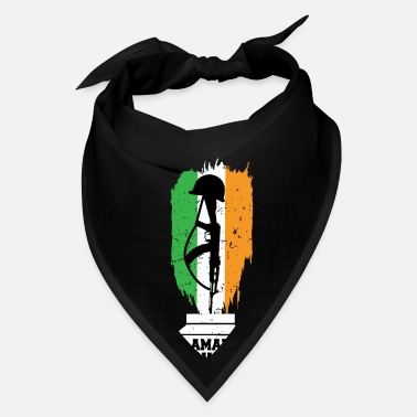 Border Security Force I Love Indian Army Amar Jawan Patriotic Jai Hind - Bandana