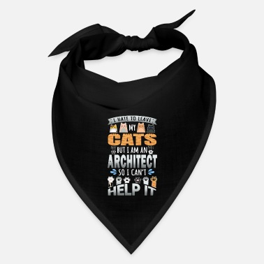 Parents Architect Will Work For Cats - Bandana
