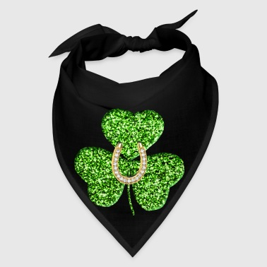 Shamrock And Horseshoe - Bandana