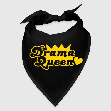 drama queen with love heart - Bandana