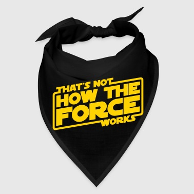THE FORCE WORKS - Bandana
