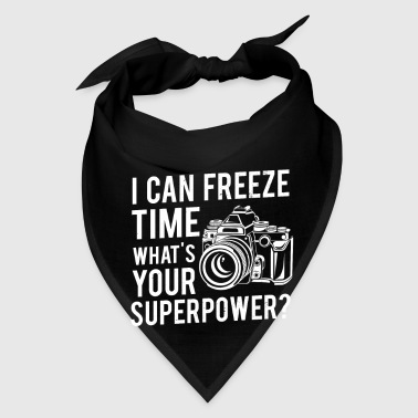 I can freeze time what's your superpower? - Bandana