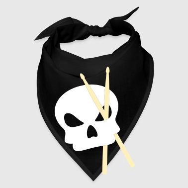 Drummer and skull - Bandana