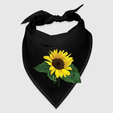 Sunflower in the Rain - Bandana