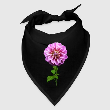 Pink Dahlia in the Rain - Bandana