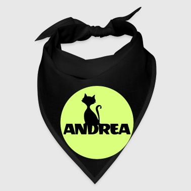 Andrea First name Names gifts Christening gif - Bandana