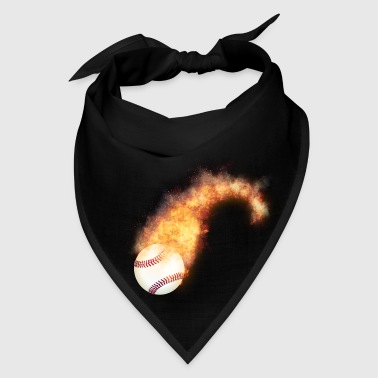 Flaming Baseball Zoom - Bandana