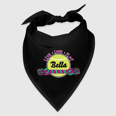 Pink Dog Toys Custom Name - Bandana