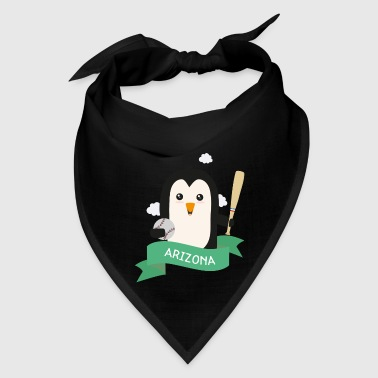 Baseball Penguin from ARIZONA  Gift - Bandana