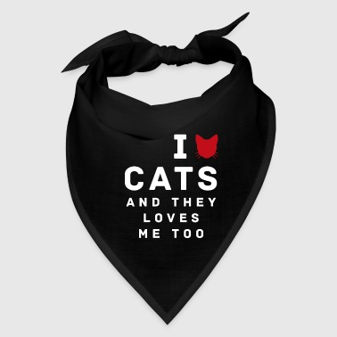 Cat Lover - Bandana