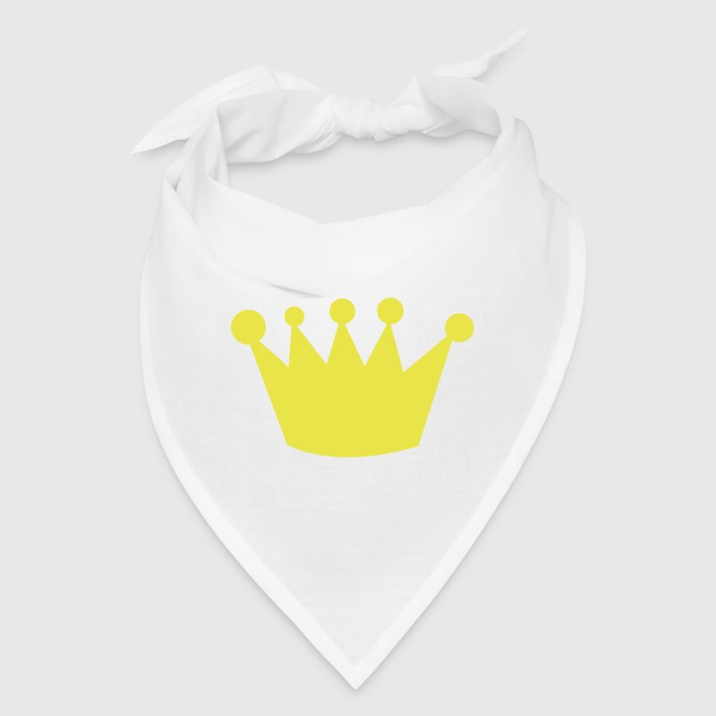 crazy funky uneven crown - Bandana