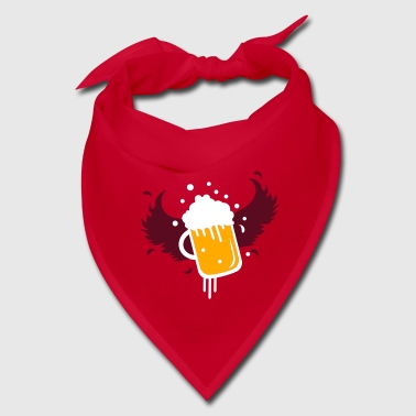 Beer glass with wings for Beer Festival visitors. - Bandana