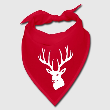 stag night deer buck antler hart cervine elk  - Bandana