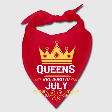 queens are born in july - Bandana