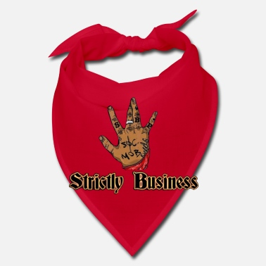 The Ministry West Side Strictly Business West Coast SBP Logo - Bandana