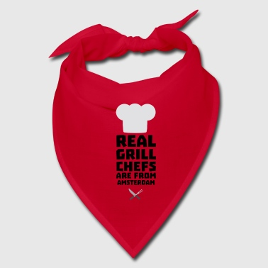 Real Grill Chefs are from Amsterdam Sl267 - Bandana