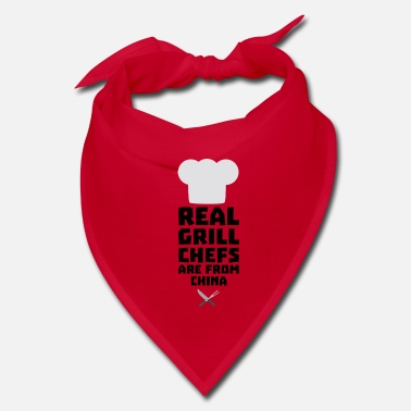 China Real Grill Chefs are from China Si775 - Bandana