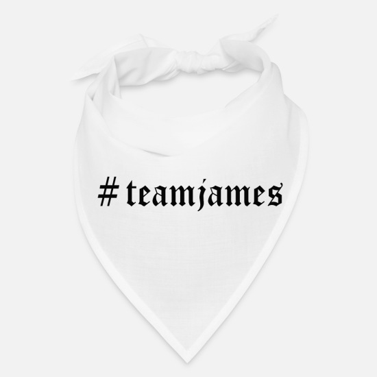 Youtube Caps - # Team James - Bandana white