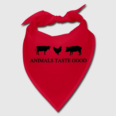 Animals Taste Good - Bandana