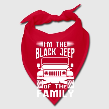 Black I'm the black Jeep of the family - offroad gift  - Bandana