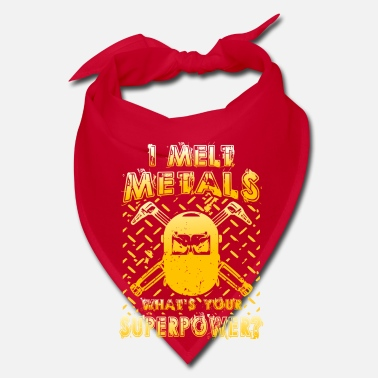 Iron Metal I melt Metals what´s your Superpower? - Bandana