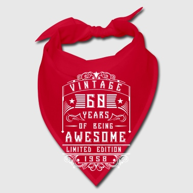 60 Years of being awesome Limited Edition 1958 - Bandana