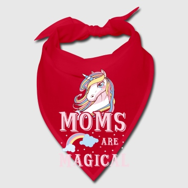 Moms are magical - cute Mothers Day mommy love  - Bandana