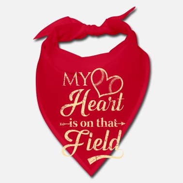Steal My heart is on that field - baseball team - Bandana