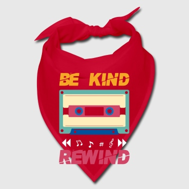 Be kind rewind - retro eighties cassette - Bandana