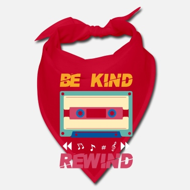 Retro Be kind rewind - retro eighties cassette - Bandana